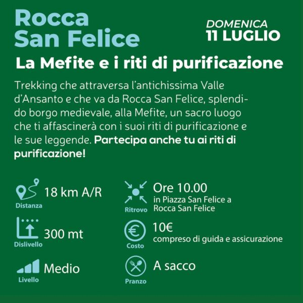 Estate in Irpinia 2021 Rocca San Felice info